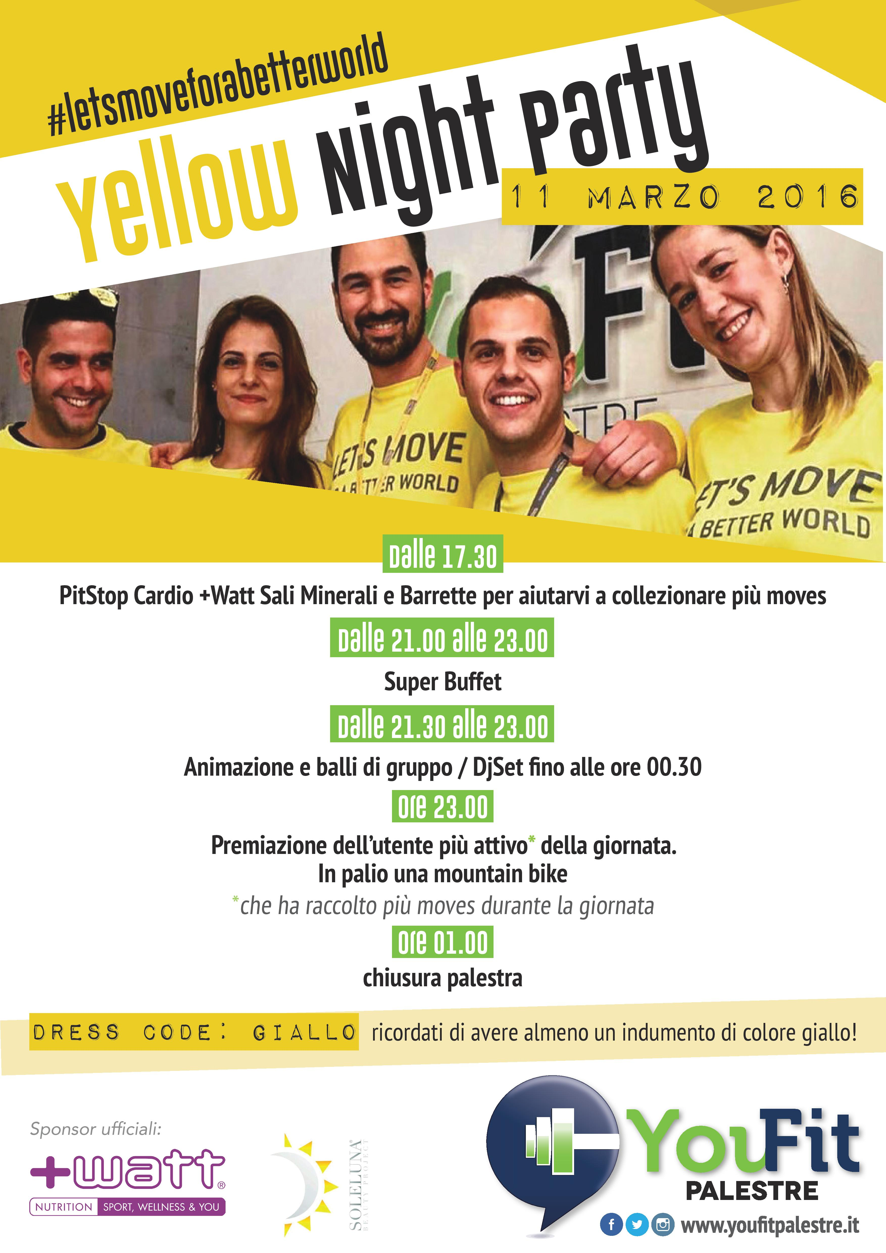 YELLOW NIGHT PARTY 11/3/2016