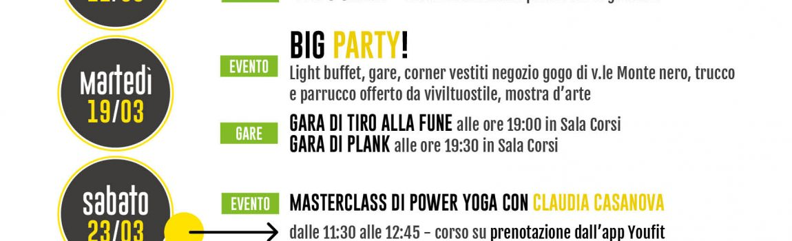 Let's Move for a Better World -YouFit via Bergamo