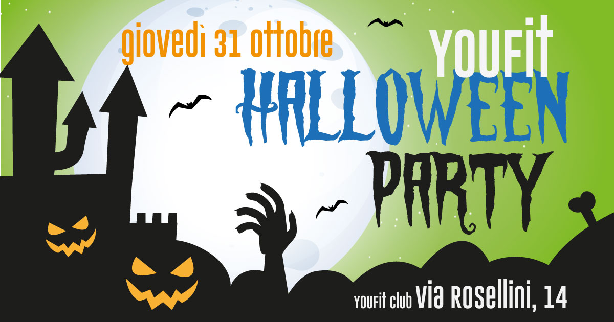 Super Halloween Party in via Rosellini